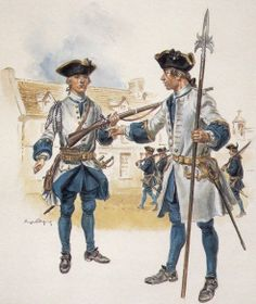colonial soldiers