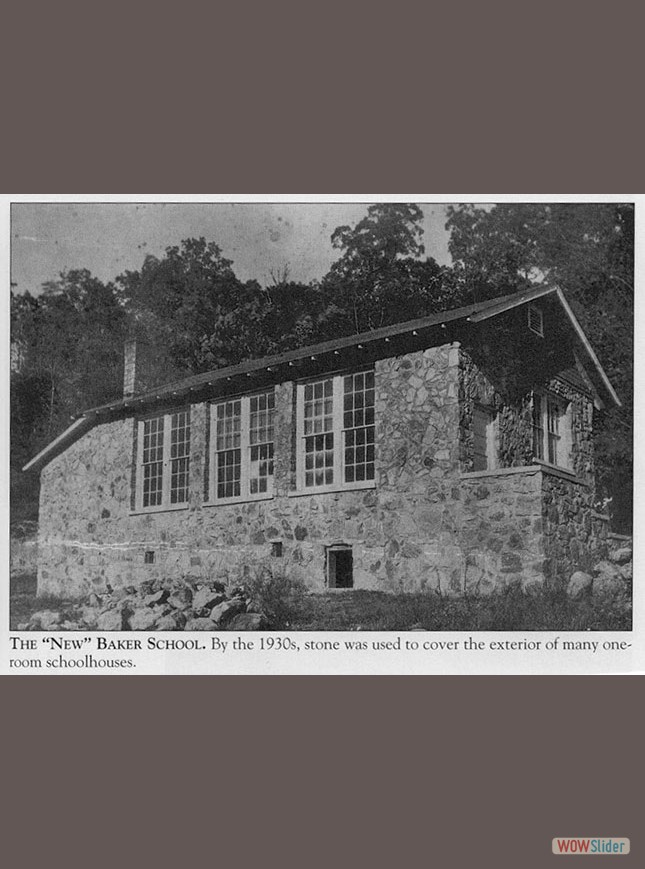 the new one room school house